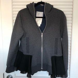 Tops - Zip up hoodie sweatshirt